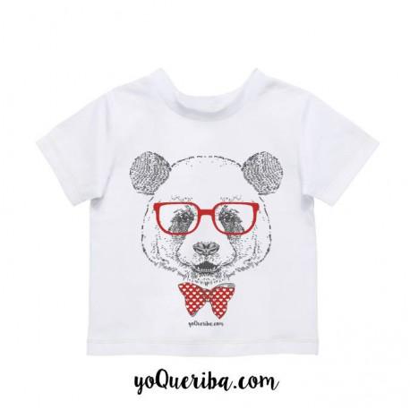 """Camiseta bebé y niños """"Panda"""""""