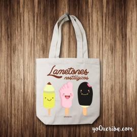 """Tote bag """"Lametones nostálgicos"""""""
