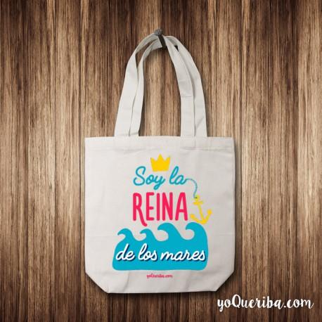 """Tote Bag """"Reina de los mares"""""""
