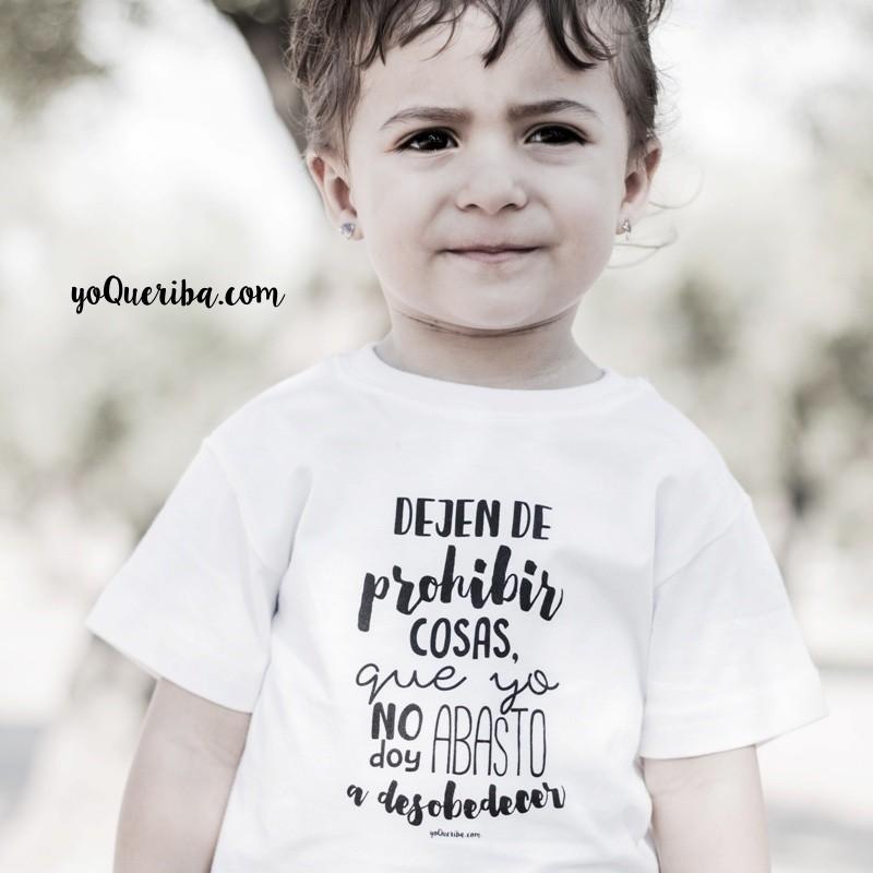 Cosas De Bebe Personalizadas.Camiseta Personalizada Bebe Dejen De Prohibir Cosas