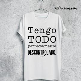 """Camiseta """"Descontrolado"""""""