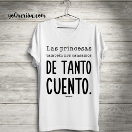 Princesas Mujer Camiseta Sin Mujer Cuento Camiseta qwvgT0gSx
