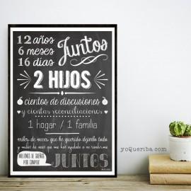 """Lámina """"Juntos"""""""