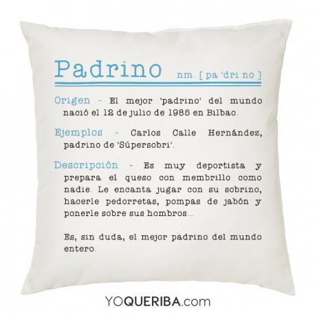 "Cojín ""Padrino"""