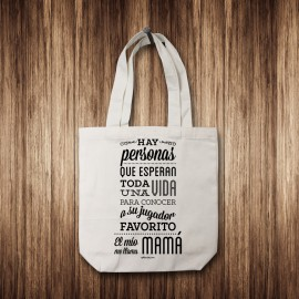"Tote Bag ""Mi jugador favorito"" nietos"