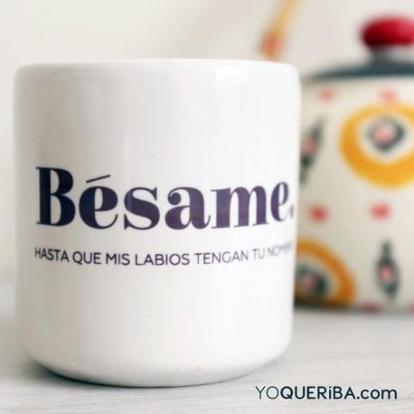 "Taza  ""Bésame"""