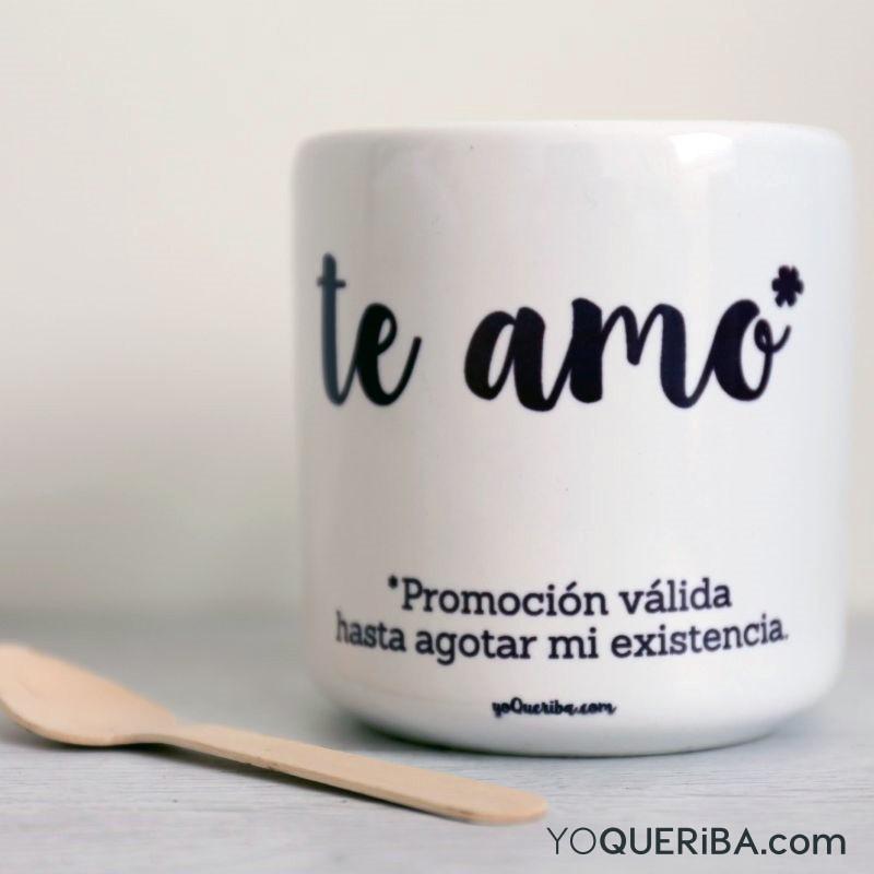 Taza te amo for Tazas de te inglesas