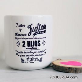 """Taza """"Juntos"""""""