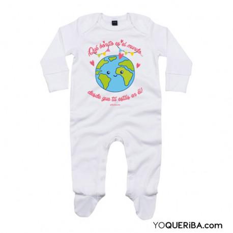 """Pijama para bebé """"Hecho con amor"""""""