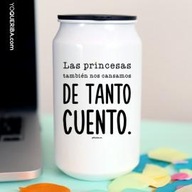 """Lata """"Princesas sin cuento"""""""