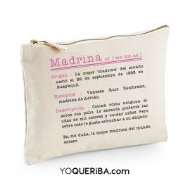 "Bolso de mano personalizado ""Madrina"""