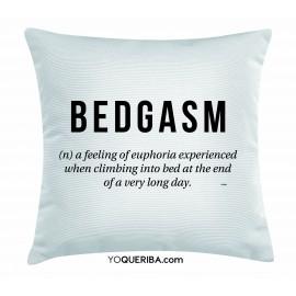 """Cojín """"Bedgasm"""""""