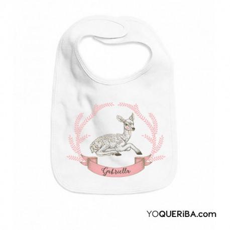 """Babero para niñas """"Bambi"""""""