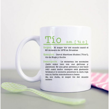 "Taza ""Tío"""