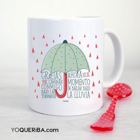 "Taza ""Paraguas"""