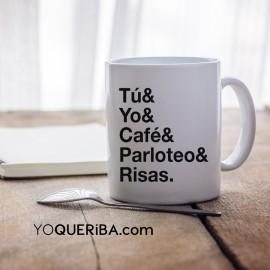 "Taza personalizada  ""Helvetica"" cosas favoritas"