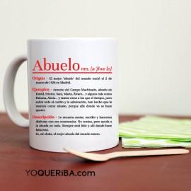 """Taza personalizada  """"Abuelo descripción"""""""