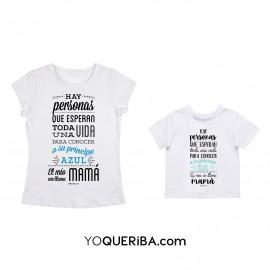 """Pack camisetas o sudaderas mamá y niño """"Príncipe y princesa"""""""
