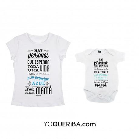 """Kit mamá y bebé """"Príncipe y princesa"""""""