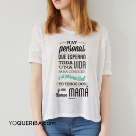 """Camiseta """"Mis personas ideales:  ¡mis hijos!"""""""