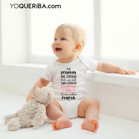 """Body para niña """"Mi madre es mi princesa"""""""