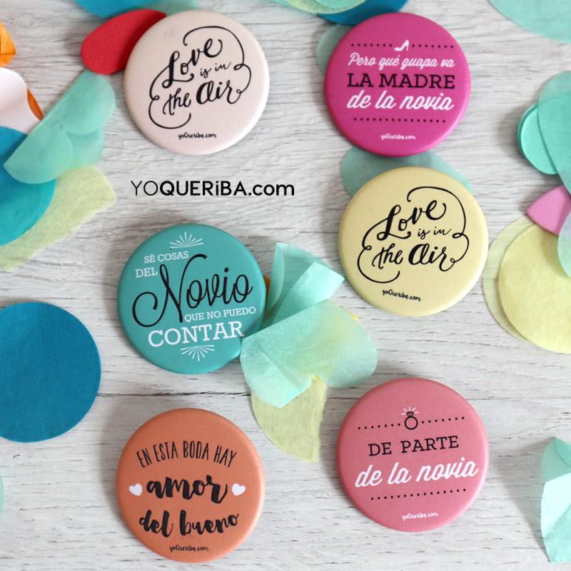 """Chapas personalizadas para bodas """"Love is in the air"""" - photo#39"""