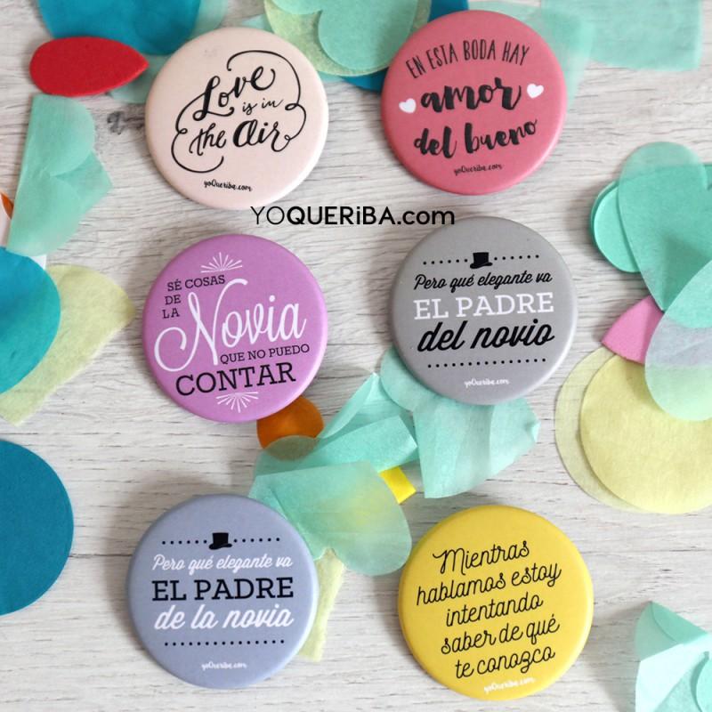 """Chapas personalizadas para bodas """"Love is in the air"""" - photo#33"""