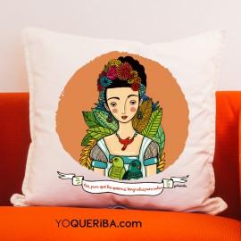 """Cojín """"Frida Kahlo"""""""