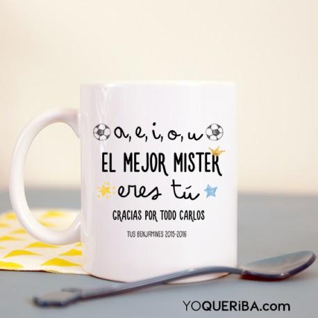 """Taza """"El mejor Mister """""""