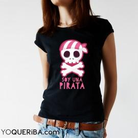 "Camiseta ""Soy una pirata"""