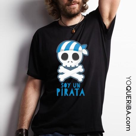 Camiseta Soy un pirata