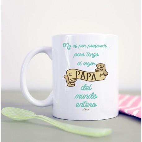 """Taza """"No es por presumir"""" familia"""