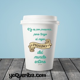 "Taza Take away ""Padrino"""