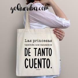 """Tote bag """"Princesas sin cuento """""""