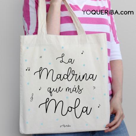"""Tote bag """"La madrina que más mola """""""
