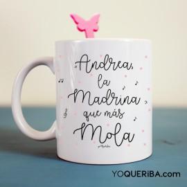 """Taza """"La madrina que más mola"""""""