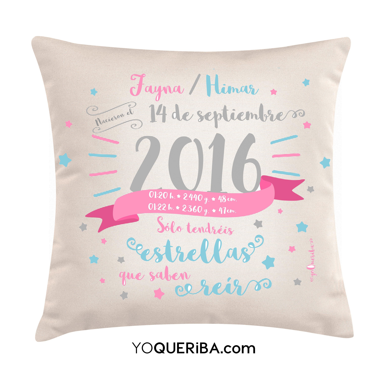 Cojines con frases y diseños personalizados | yoQueriba (2