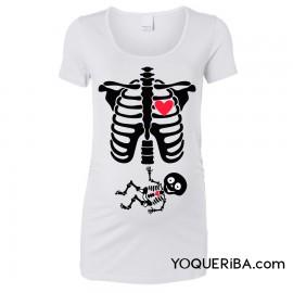 """Camiseta premamá """"Radiografía de amor"""""""