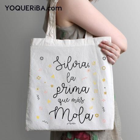 """Tote bag """"La prima que más mola """""""