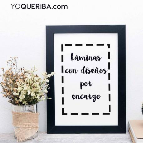 """Lamina """"Personalizada"""""""