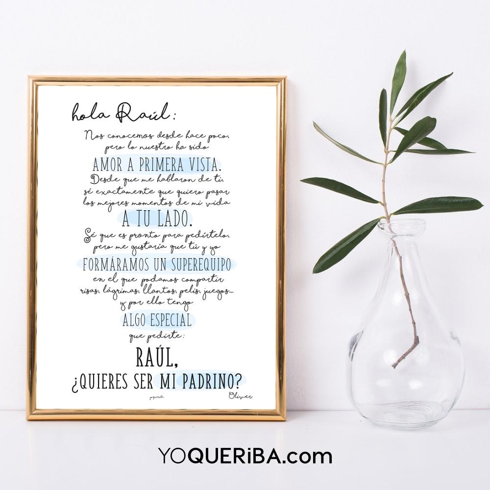 Láminas y posters personalizados - yoQueriba