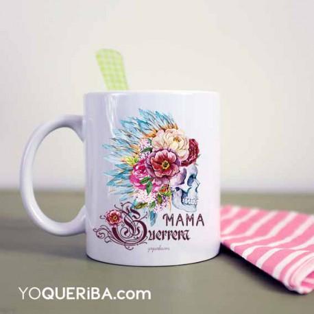 """Taza """"Mamá guerrera"""""""