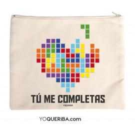 """Neceser personalizado """"Tetris"""""""