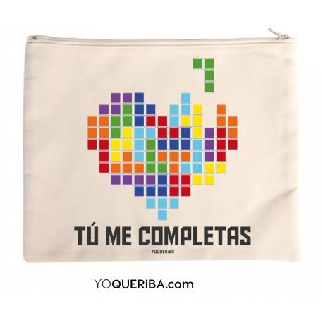 """Bolso de mano personalizado """"Tetris"""""""