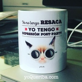 """Taza  """"Resaca"""""""""""
