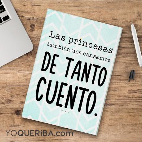 """Cuaderno """"Princesas sin cuento """""""