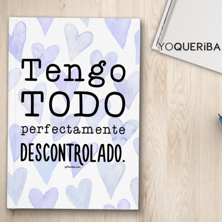 "Cuaderno ""Descontrolado"""