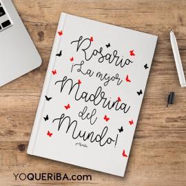 """Cuaderno """"La mejor madrina"""""""