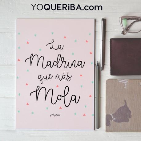 """Cuaderno """"Como mola mi madrina"""""""