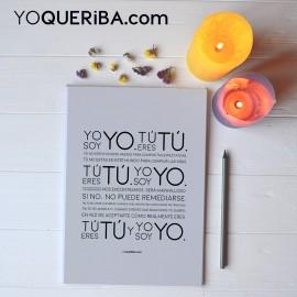 "Cuaderno ""Yo soy yo"""